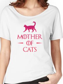 Mother of Cats - Gradient Women's Relaxed Fit T-Shirt