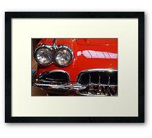 Corvette: 1959 Framed Print