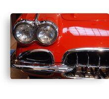 Corvette: 1959 Canvas Print