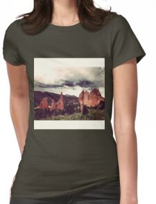 Garden of the Gods, Denver Womens Fitted T-Shirt