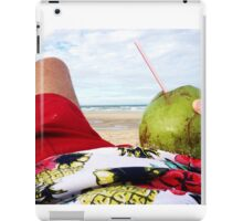 Beach Bumming in Fortaleza, Brasil iPad Case/Skin