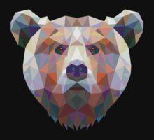 Geometric Bear Kids Clothes