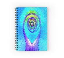 Hot As A Blue Flame Spiral Notebook