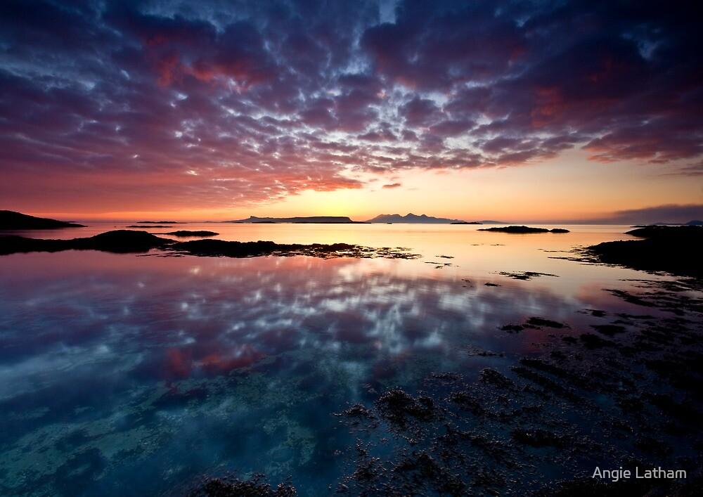 Scotland: West Coast Fire by Angie Latham