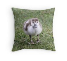 Extra cute & fluffy for Easter!! Throw Pillow