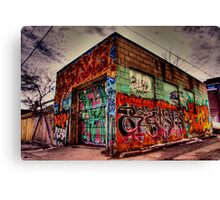 'BORN READY' Canvas Print
