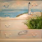 Painted Dresser early stage by Cathy Amendola