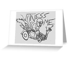 Nux car from Mad Max Fury Road Greeting Card