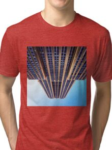 My view of the Empire State Building Tri-blend T-Shirt