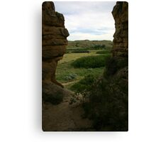 From a Hole in the Rock Canvas Print