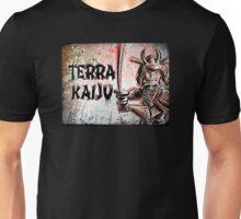 Terra Kaiju, Daikaiju, kaiju, japan, japanese, samurai, terra cotta, godzilla, mothra, king ghidora, comix, indie, ancient, joe badon Unisex T-Shirt