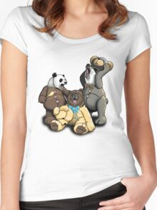 The Three Angry Bears Women's Fitted Scoop T-Shirt