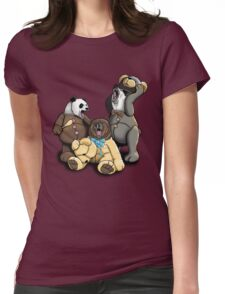 The Three Angry Bears Womens Fitted T-Shirt