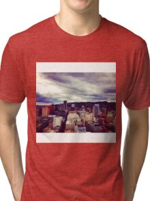 Portland Skyline Tri-blend T-Shirt