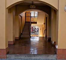 Shop through the archway by davridan