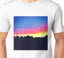 Sunset in UC Davis Unisex T-Shirt