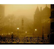 University Bicycles Photographic Print