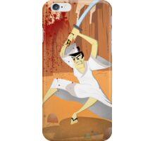 Samurai Jack, Sam, Jack, Art, Wall Art illustration, drawing, home decor, decor, cartoon network, genddy tartakofski, joe badon, cartoon, ninja, samurai iPhone Case/Skin