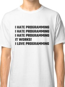 I Love Programming Classic T-Shirt