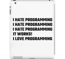 I Love Programming iPad Case/Skin