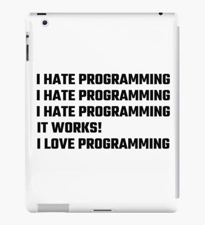 I Love Programming iPad Case/Skin