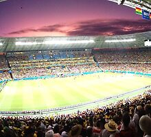 Fortaleza, Germany v. Ghana by omhafez