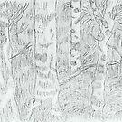 Trees by Paul by LadyE