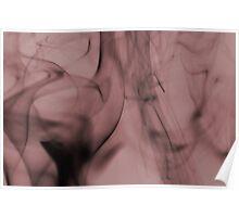 Smoldering Smoke Muted Pastel 001 Poster