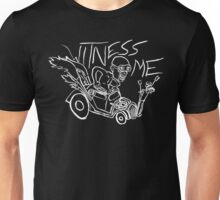 Nux car from Mad Max Fury Road in white Unisex T-Shirt