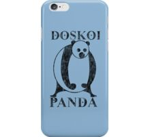 Nami's DOSKOI PANDA TShirt - ONE PIECE (Chapter 86) iPhone Case/Skin