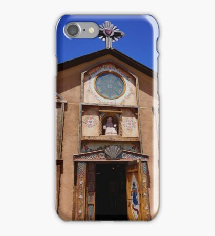 Church Of Chimayo iPhone Case/Skin