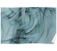 Smoldering Smoke Muted Pastel 004 Poster