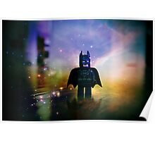The Caped Crusader Poster