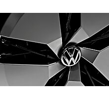 Silver Photography Transportation Still Volkswagen uplite Concept Photographic Print