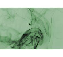Smoldering Smoke Muted Pastel 005 Photographic Print