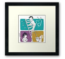 Catch Moriarty Framed Print