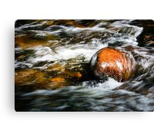 Fast Water 2 Canvas Print