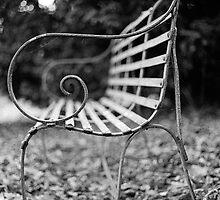 Cemetery bench by SkinkArt