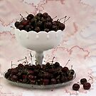 Cherries Still Life by Sandra Foster