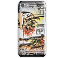 Metroid, Art, shamus, nintendo 64, nintendo, gamecube, video game, girl, robot, machine, underwear, christmas, present, joe badon iPhone Case/Skin