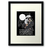 Wizard Wars Framed Print