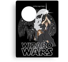Wizard Wars Canvas Print