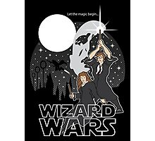 Wizard Wars Photographic Print