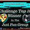 Just Fun group banner for Challenge Top Ten Winners by RichardKlos