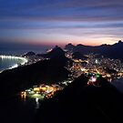 The Bright Lights of Rio by omhafez