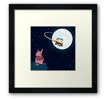 Take Her to the Moon for Me Framed Print
