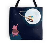 Take Her to the Moon for Me Tote Bag