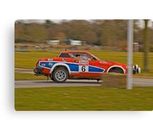Triumph TR7 V8 Canvas Print
