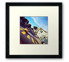 Go Karting in SF Framed Print