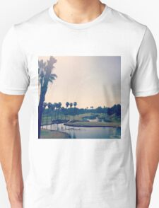 Palm Trees in Southern California Unisex T-Shirt
